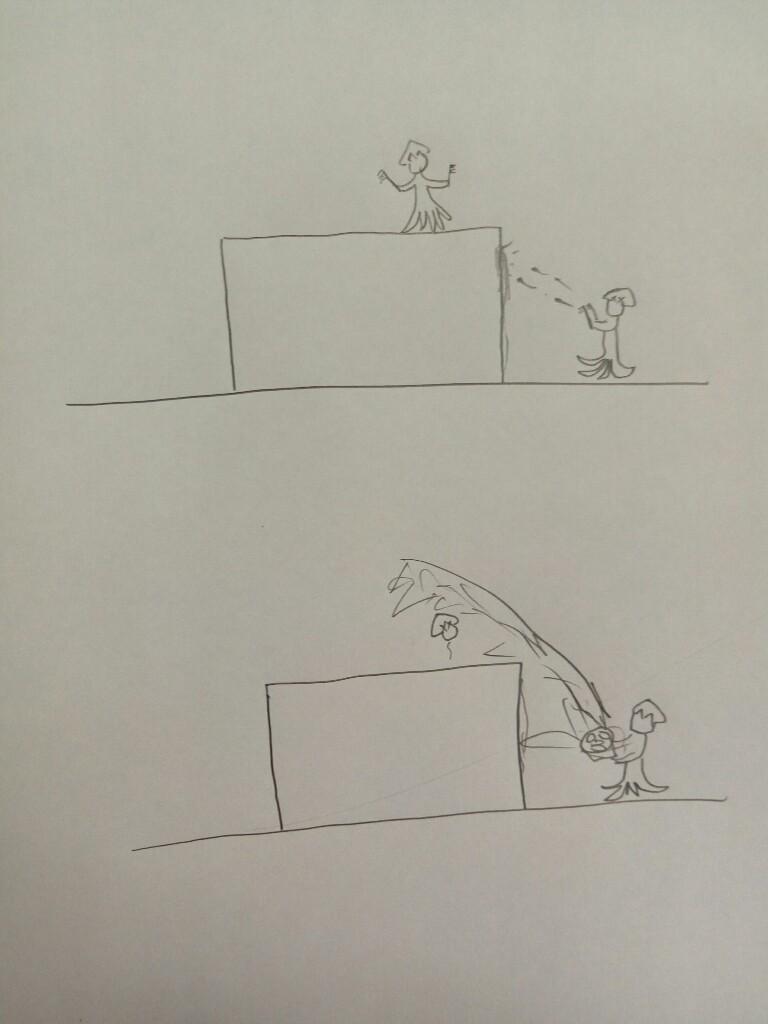 【スプラトゥーン2】ヒッセンが害悪なのを絵にしてみた。これでハッキリわかる!
