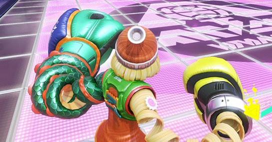 【ARMS】トースター/フリーザー/スパーキーはダメージ量と特殊効果以外は性能同じなの? フリーザーが当てやすくない?
